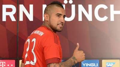 Arturo Vidal Bayern