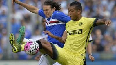 Edgar Barreto Fredy Guarin Sampdoria Inter