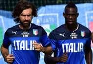 Pirlo Balotelli Italy