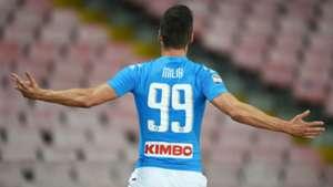Milik Napoli Serie A