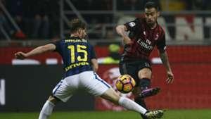 Suso Cristian Ansaldi Milan Inter