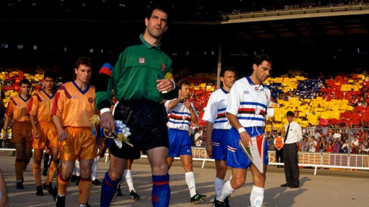 Barcellona Sampdoria 1992
