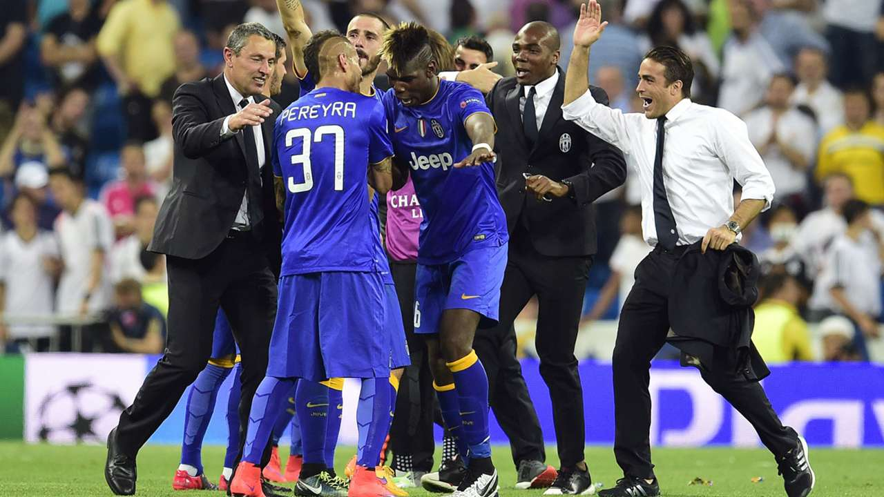 Festa Juventus al Bernabeu