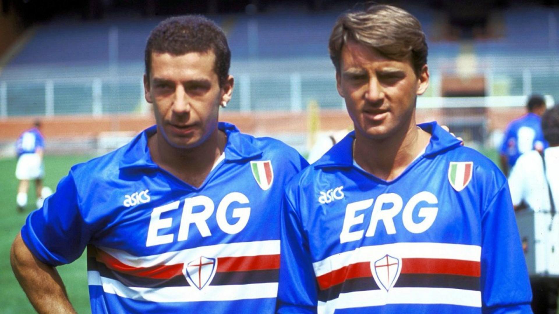 Roberto Mancini Gianluca Vialli Sampdoria
