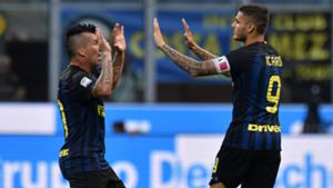 Gary Medel Mauro Icardi Inter Palermo Serie A