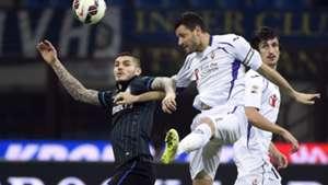 Icardi Pasqual Inter Fiorentina Serie A
