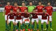 Hungary team vs Norway 15112015