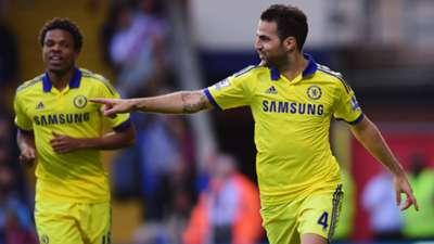 Cesc Fabregas Chelsea English Premier League 18102014