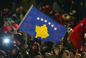 The Kosovan flag