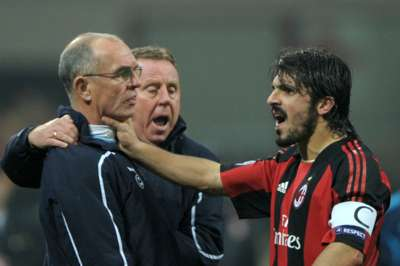 Joe Jordan and Gattuso February 2011