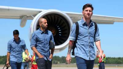Lionel Messi Champions League Barcelona v Juventu