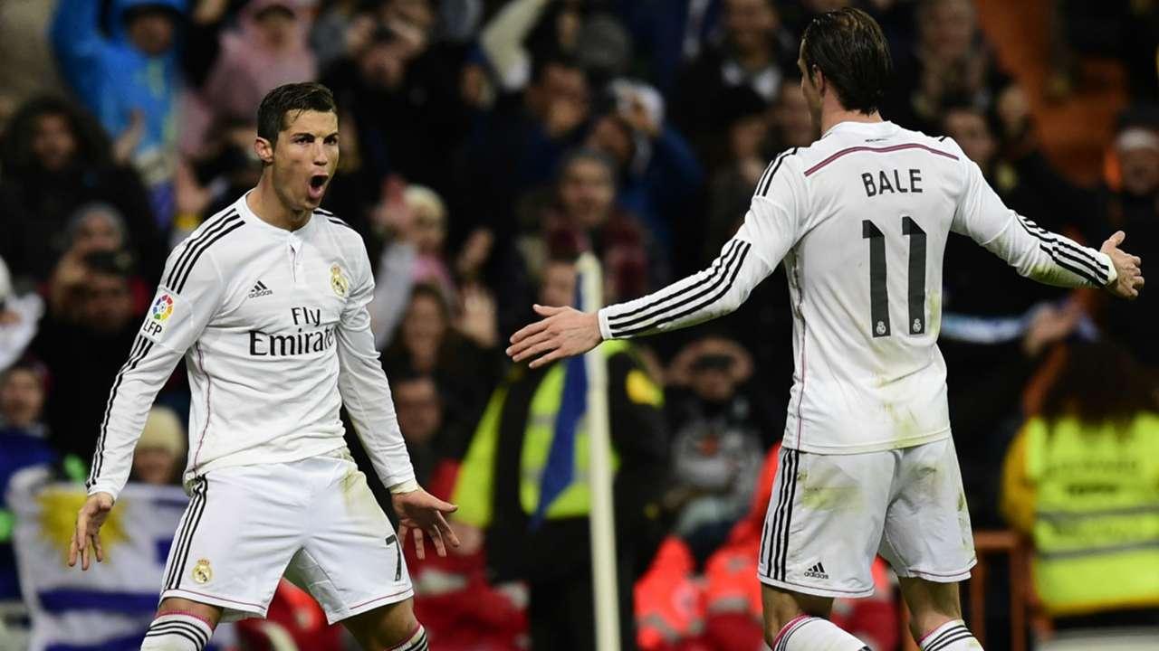 Gareth Bale Cristiano Ronaldo Real Madrid La Liga