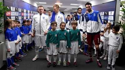 Wayne Rooney Gianluigi Buffon England Italy