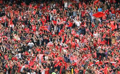 PERSEPOLIS SUPPORTERS AFC CHAMPIONS LEAGUE 17042012