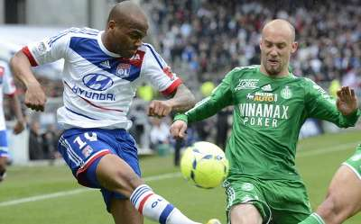 Ligue 1 : Jimmy Briand vs Renaud Cohade (AS Saint-Etienne vs Olympique Lyonnais)