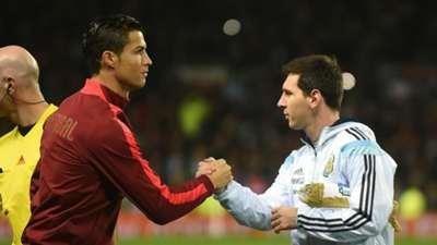 Cristiano Ronaldo Portugal; Lionel Messi Argentina