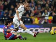 Zidane Messi - Barcelona - Real Madrid - 2005
