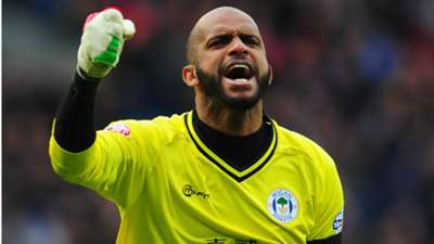 Ali Al-Habsi Wigan Athletic Championship 150214