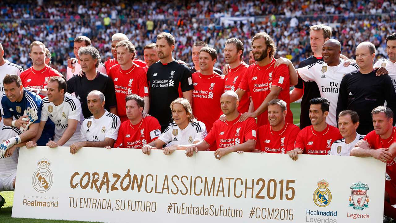 Real Madrid Liverpool Legends Match