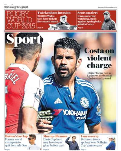 Daily Telegraph back page 22092015