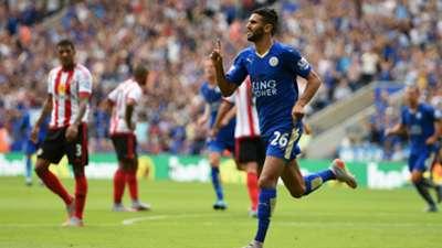 HD Riyad Mahrez Leicester City Sunderland