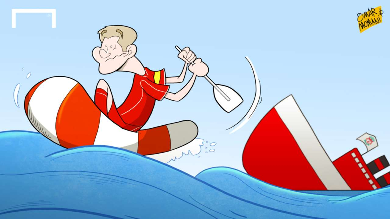 Cartoon of the Day: Gerrard leaves Liverpool