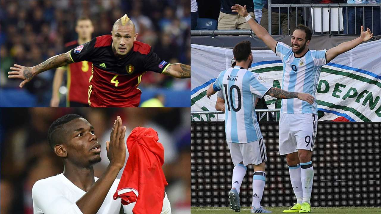 Nainggolan, Pogba and Higuain