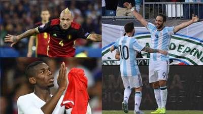 Nainggolan, Pogba and Higuain