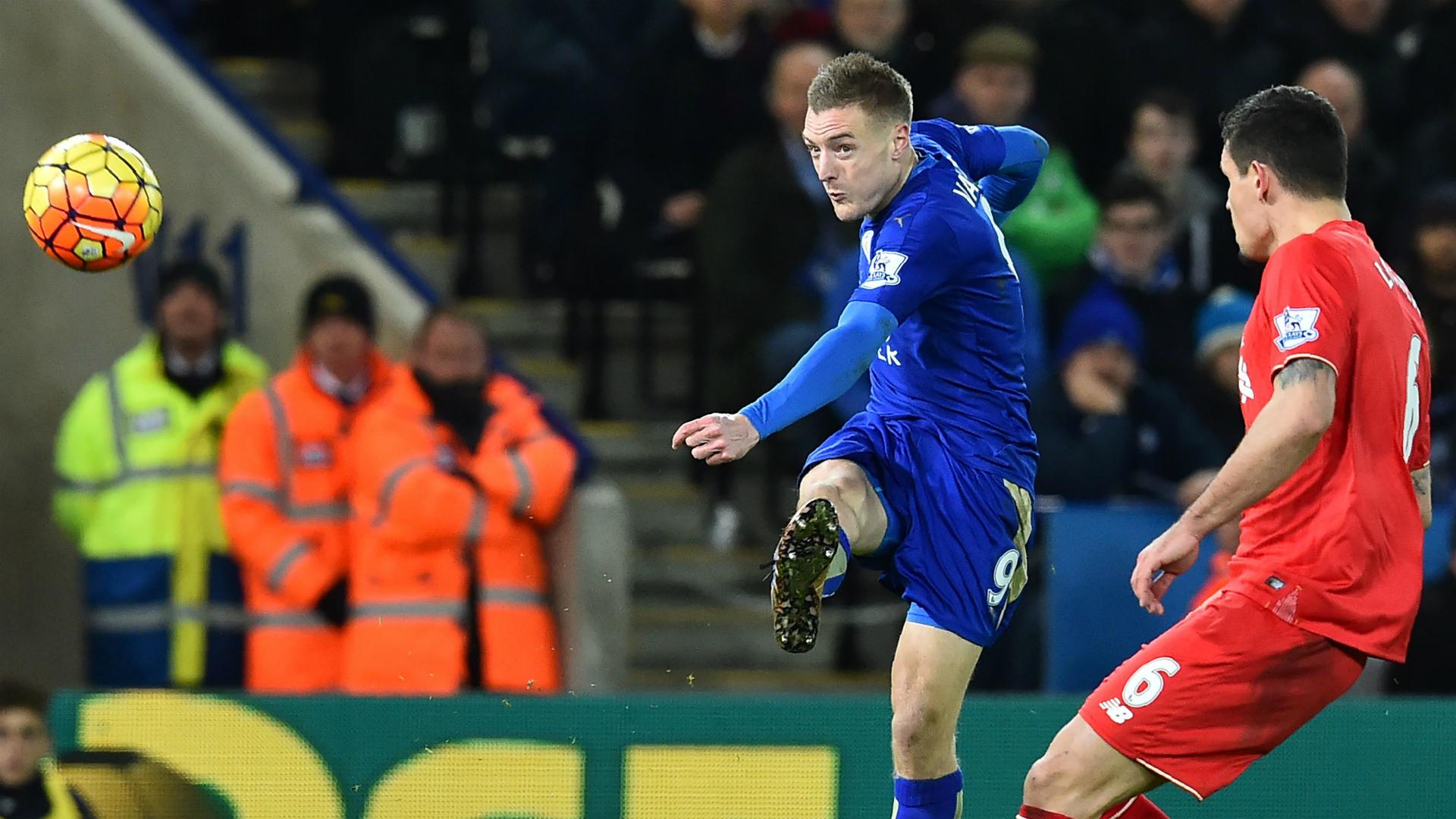 Jamie Vardy Leicester City Liverpool