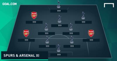 Tottenham and Arsenal Combined XI