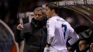 Cristiano Ronaldo Jose Mourinho 23022013