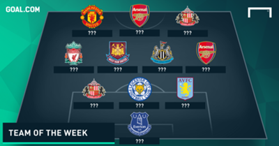 Who made the latest Team of the Week?