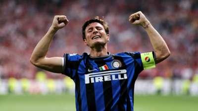 Javier Zanetti Inter Champions League