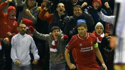 Steven Gerrard | Liverpool v Basel