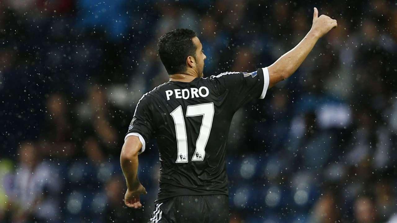 Pedro Premier League West Brom v Chelsea 230815