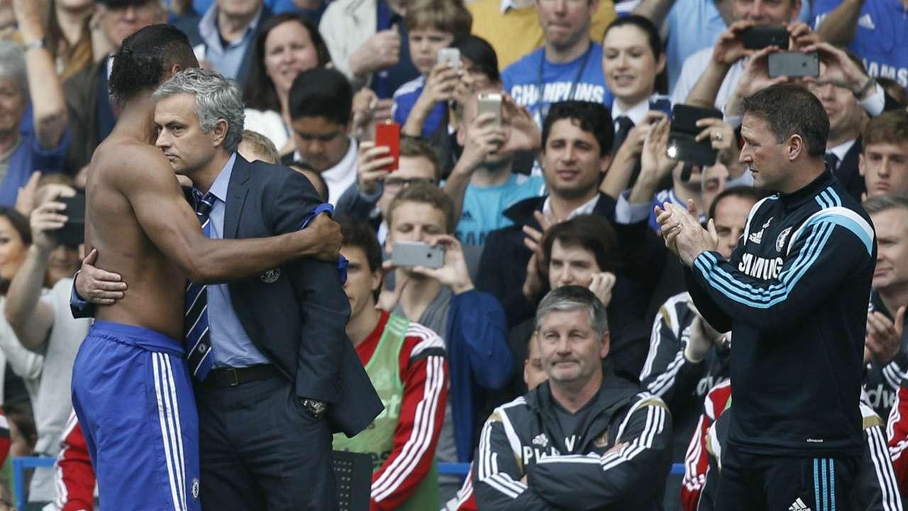 Didier Drogba; Jose Mourinho Chelsea
