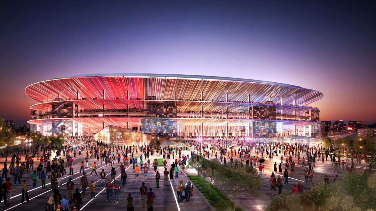 IN PICS: The redevelopment of Camp Nou