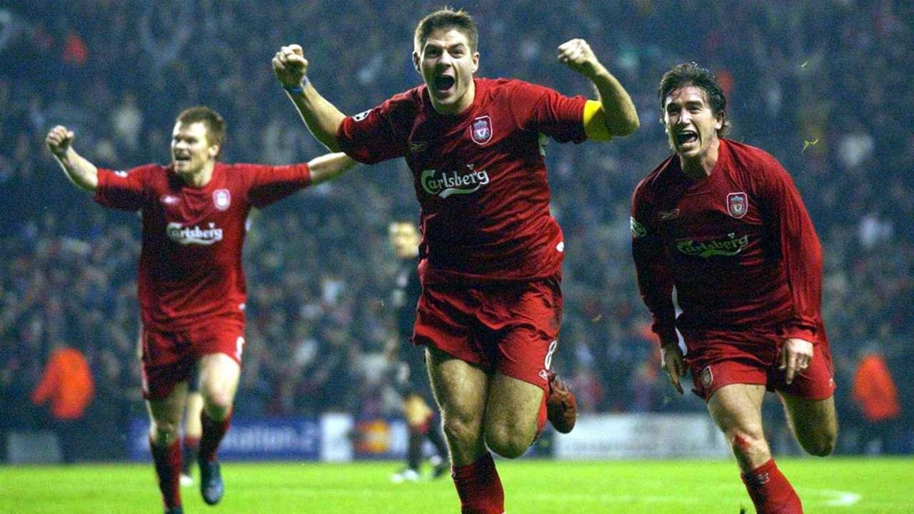 HD Steven Gerrard Liverpool Olympiakos