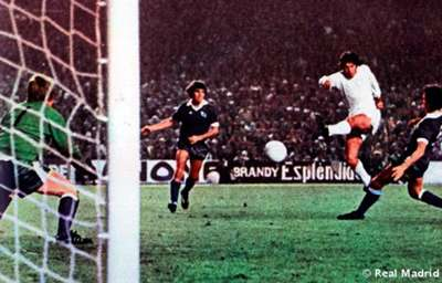 Remontada europea: Real Madrid-Derby County Copa Europa 1975-76