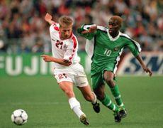 Okocha Denmark Nigeria 1998
