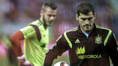 Iker Casillas, David de Gea, Spain