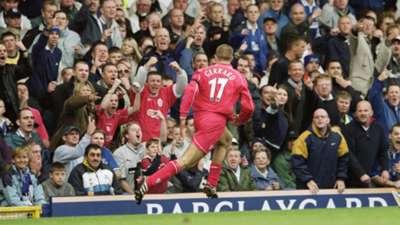 Steven Gerrard Everton Liverpool Premier League 15092001