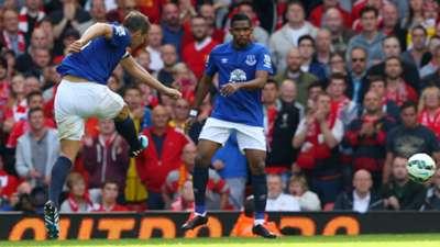 Phil Jagielka Liverpool Everton Premier League 27092014