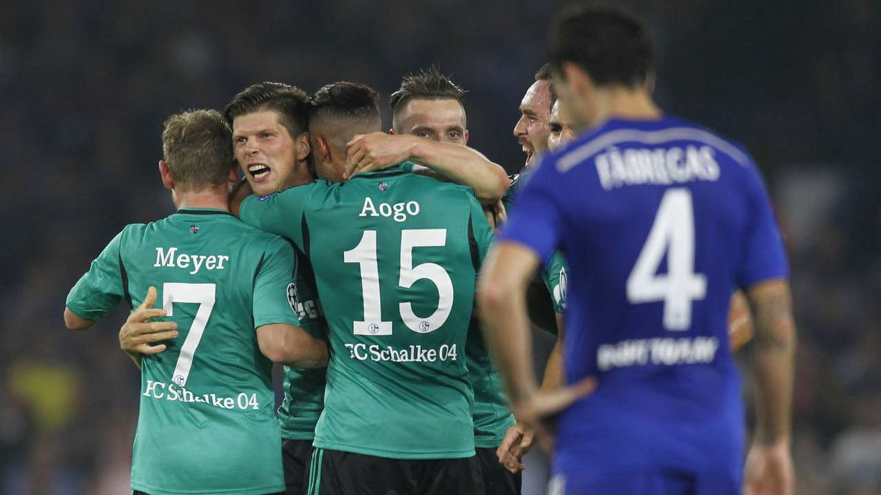 Klaas-Jan Huntelaar Champions League Chelsea v Schalke 170914