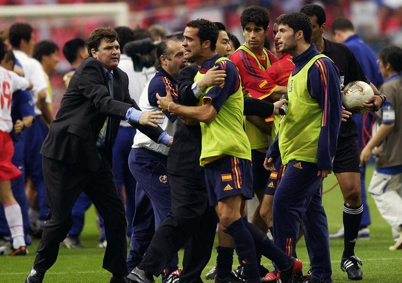 Spain vs South Korea world cup 2002