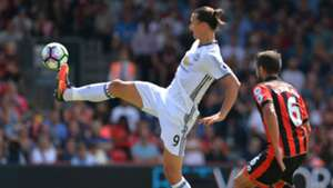 Ibrahimovic Manchester United Bournemouth Premier League 14082016