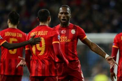 Umut Bulut Didier Drogba Real Madrid Galatasaray Champions League 11272013