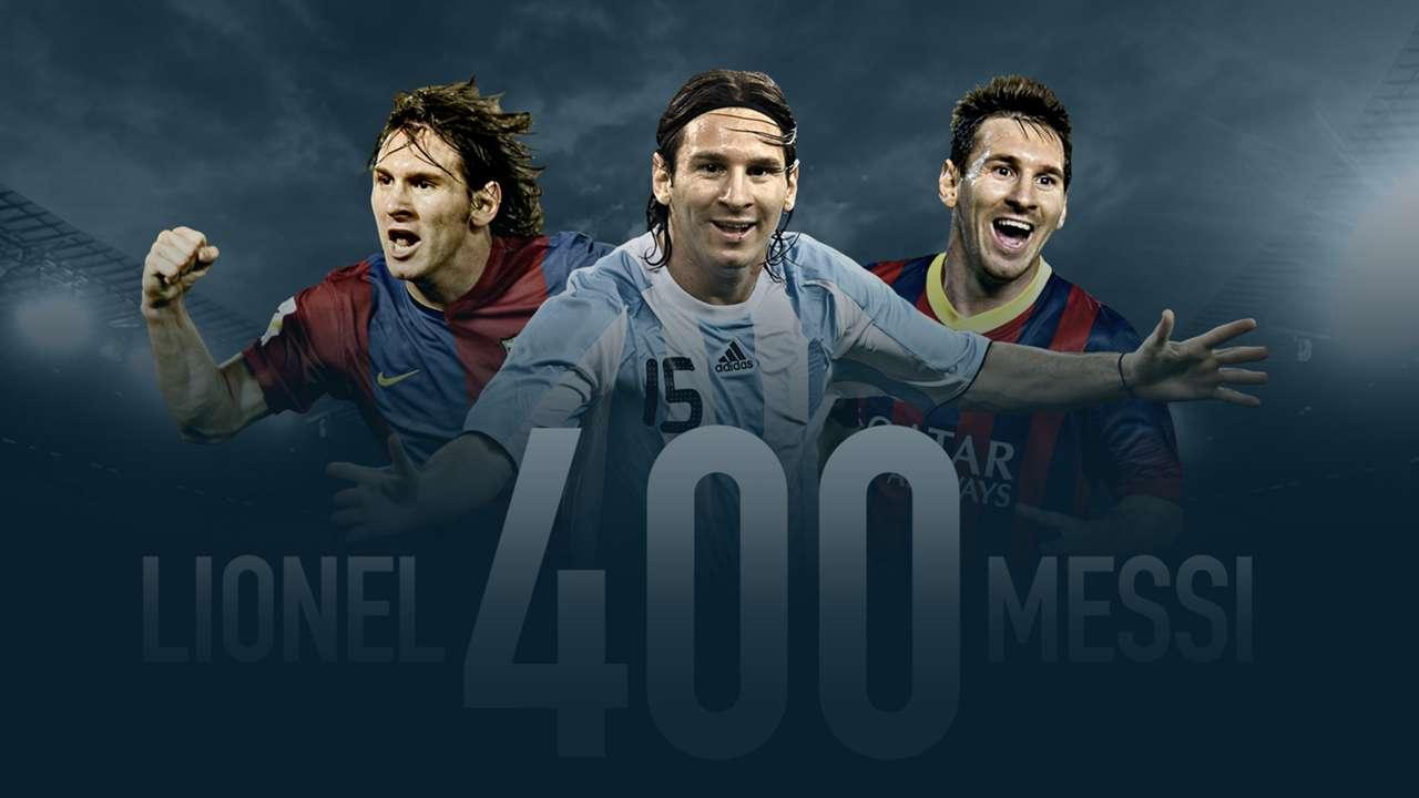 GFX Lionel Messi 400