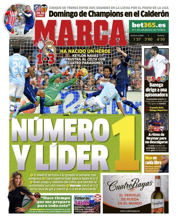 Marca back page October 25