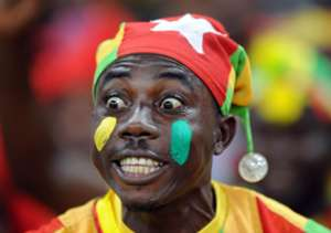 Togo Fans during the Orange Africa Cup of Nations, South Africa 2013 match between Burkina Faso and Togo